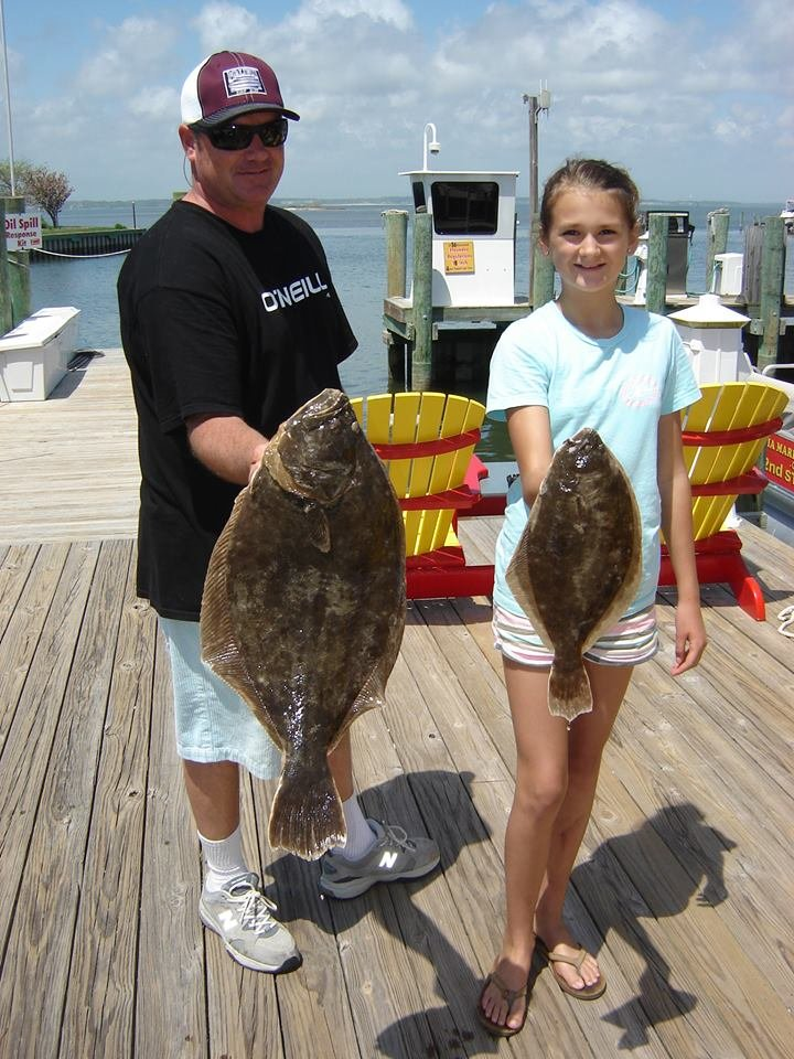 First Big Flounder Of The Season Ocean City Md Fishing