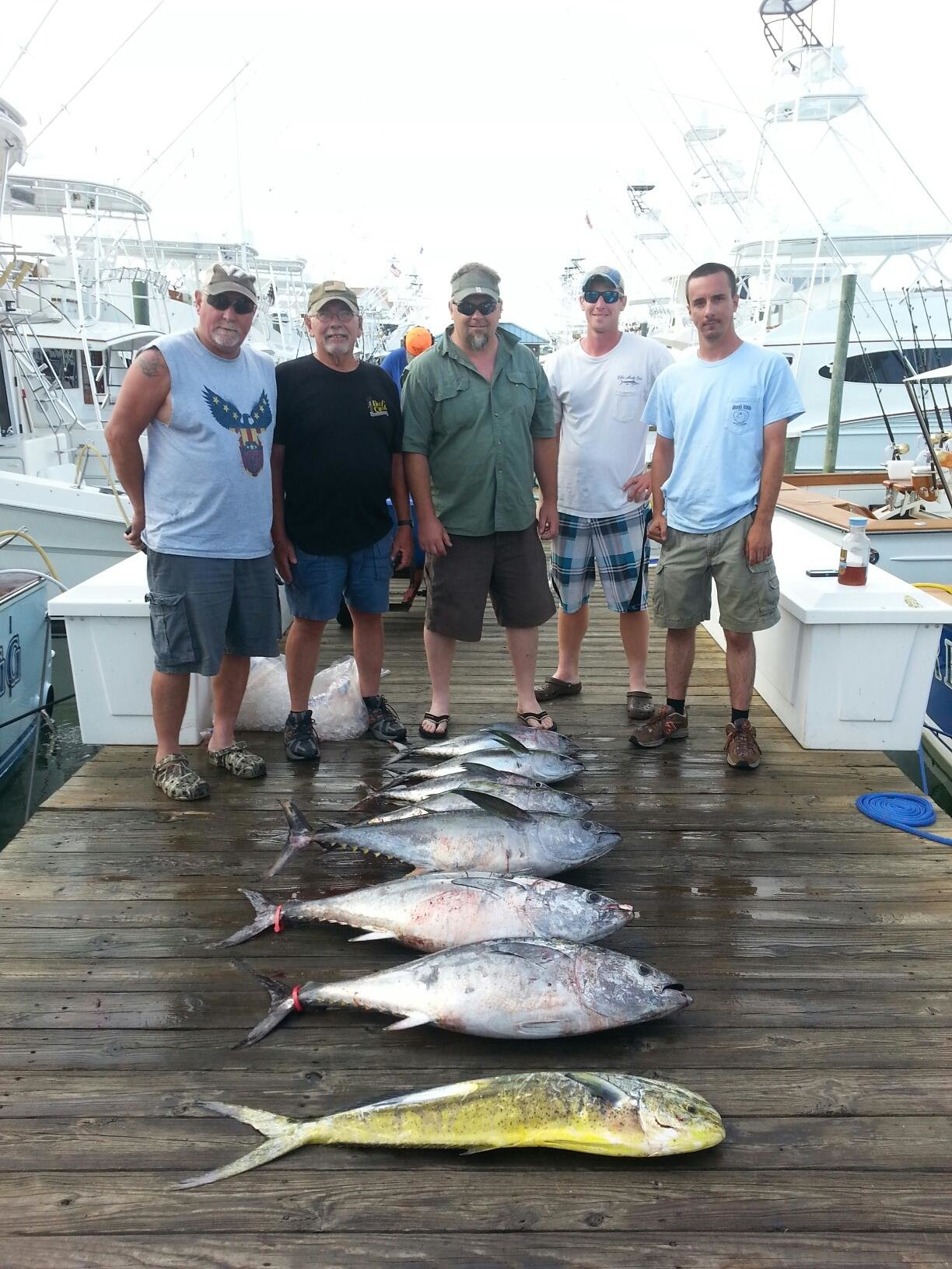 Tuna Tournament Time!  and Morning Star Fish Report