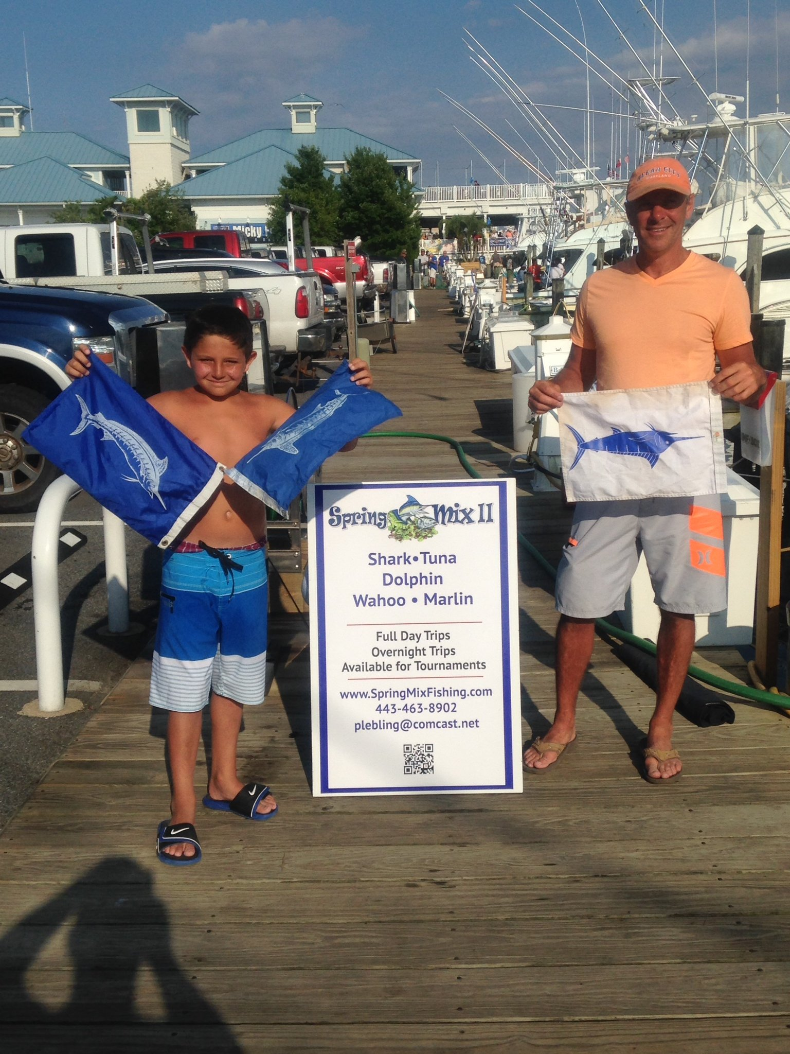 Marlin in the Canyons and Morning Star Fish Report