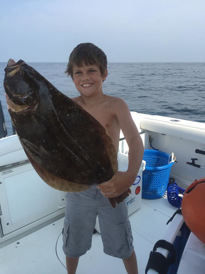 OCMC Canyon Kick-Off Day 1 and the Kid with the Monster Flounder