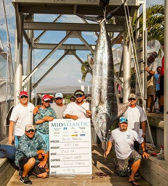The MidAtlantic Tournament Day 2 Has Another Blue Marlin