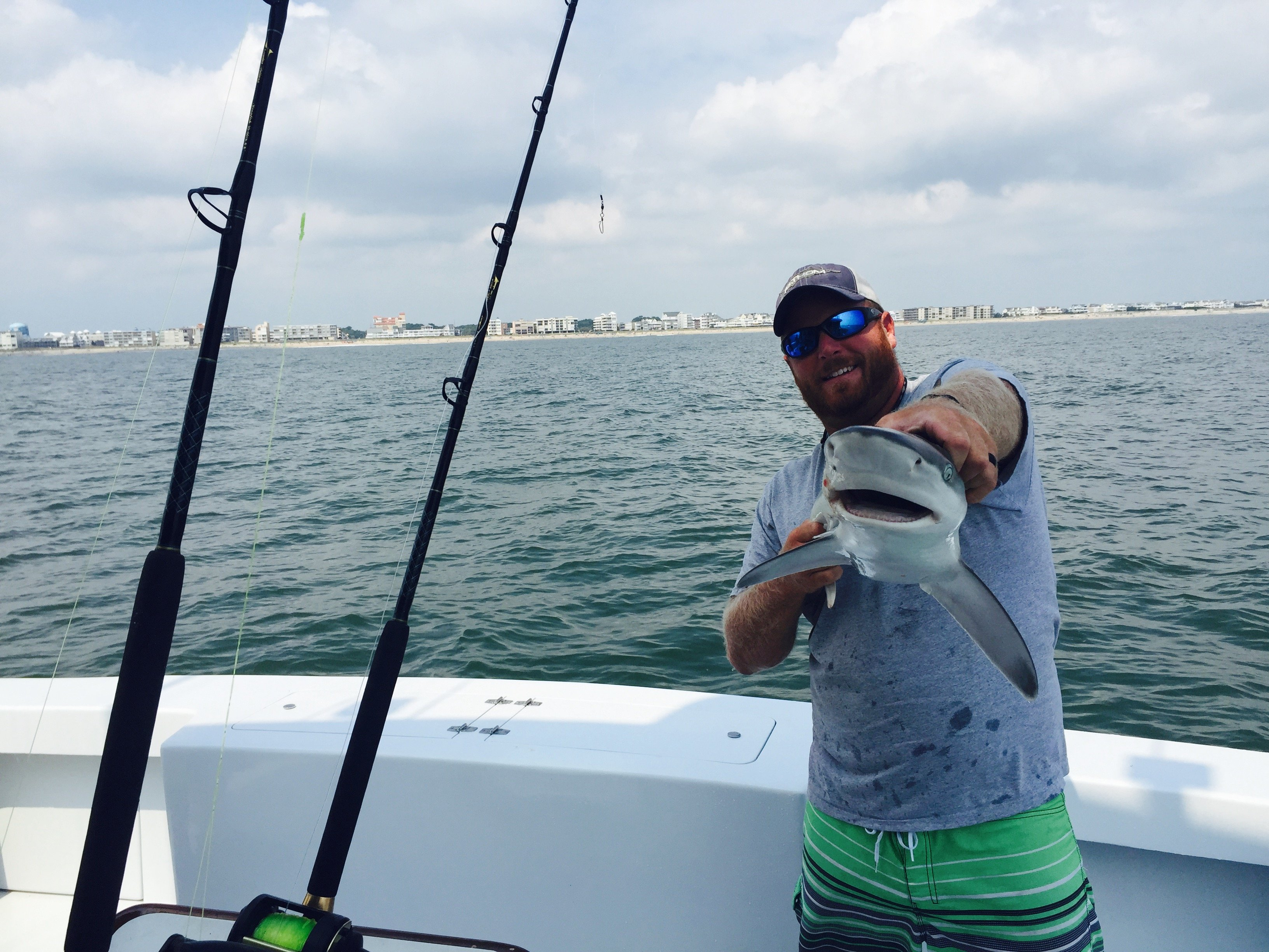 Inshore Sharks and Limits of Flounder
