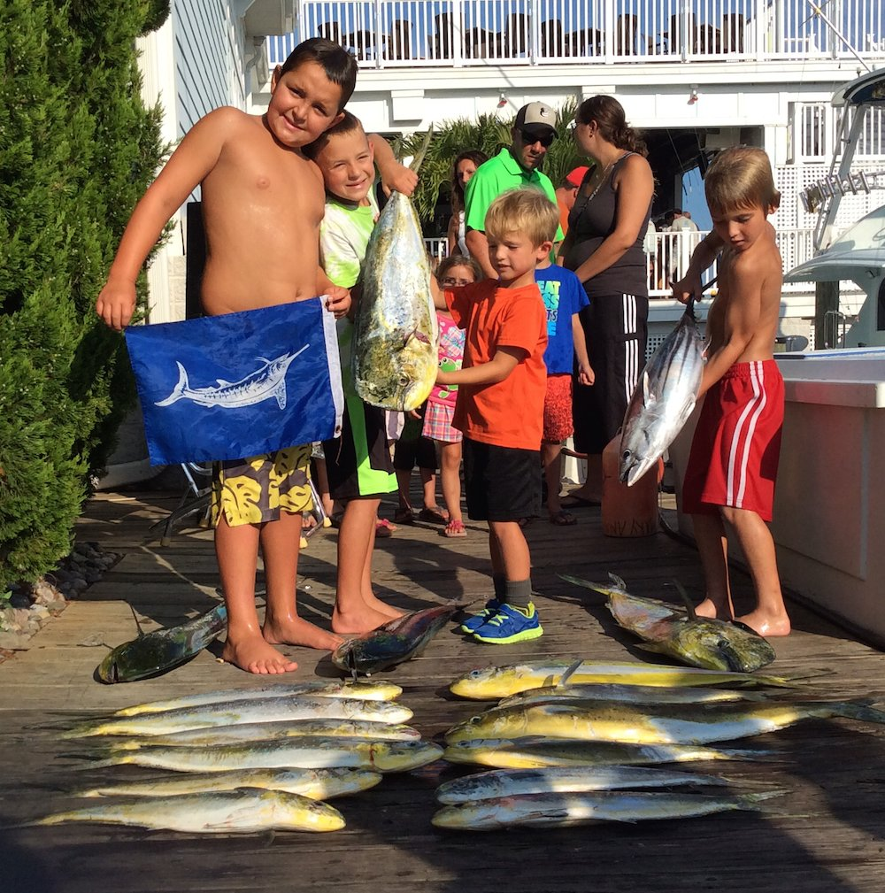 The Kid's First White Marlin and MSSA Beach N' Boat Results