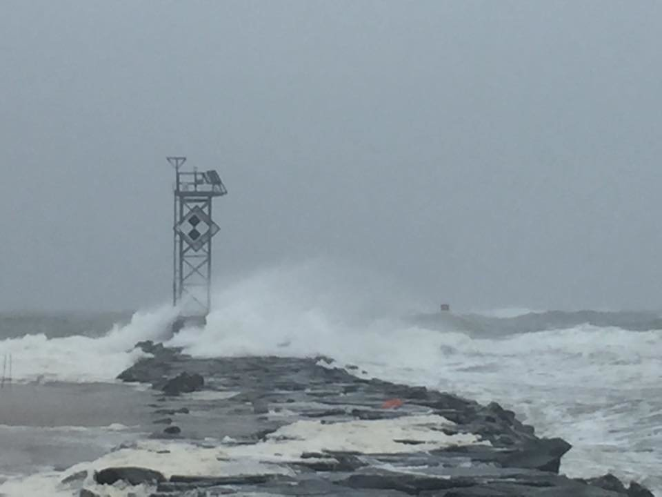 Nor 39 easter brings rain wind and flooding to oc ocean for Ocean city md fishing