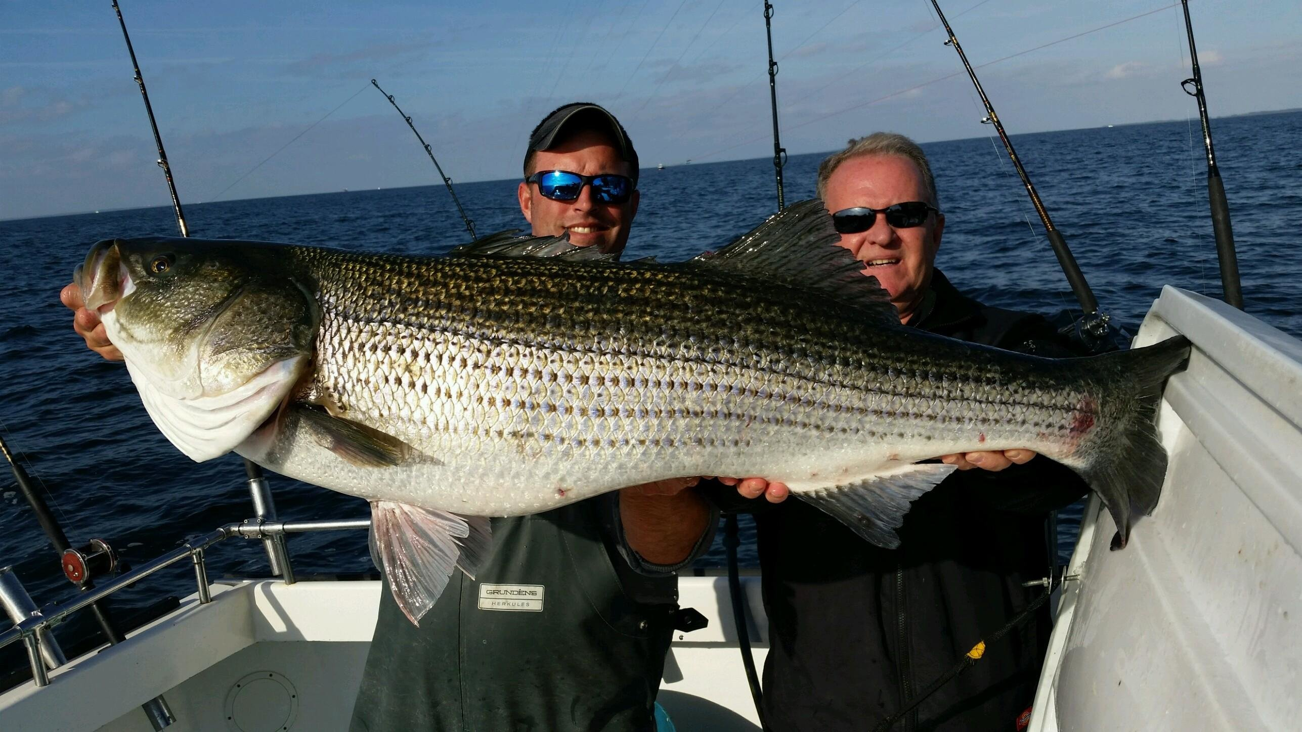 Mssa fall classic day 1 big ol 39 rockfish ocean city md for Md fishing license