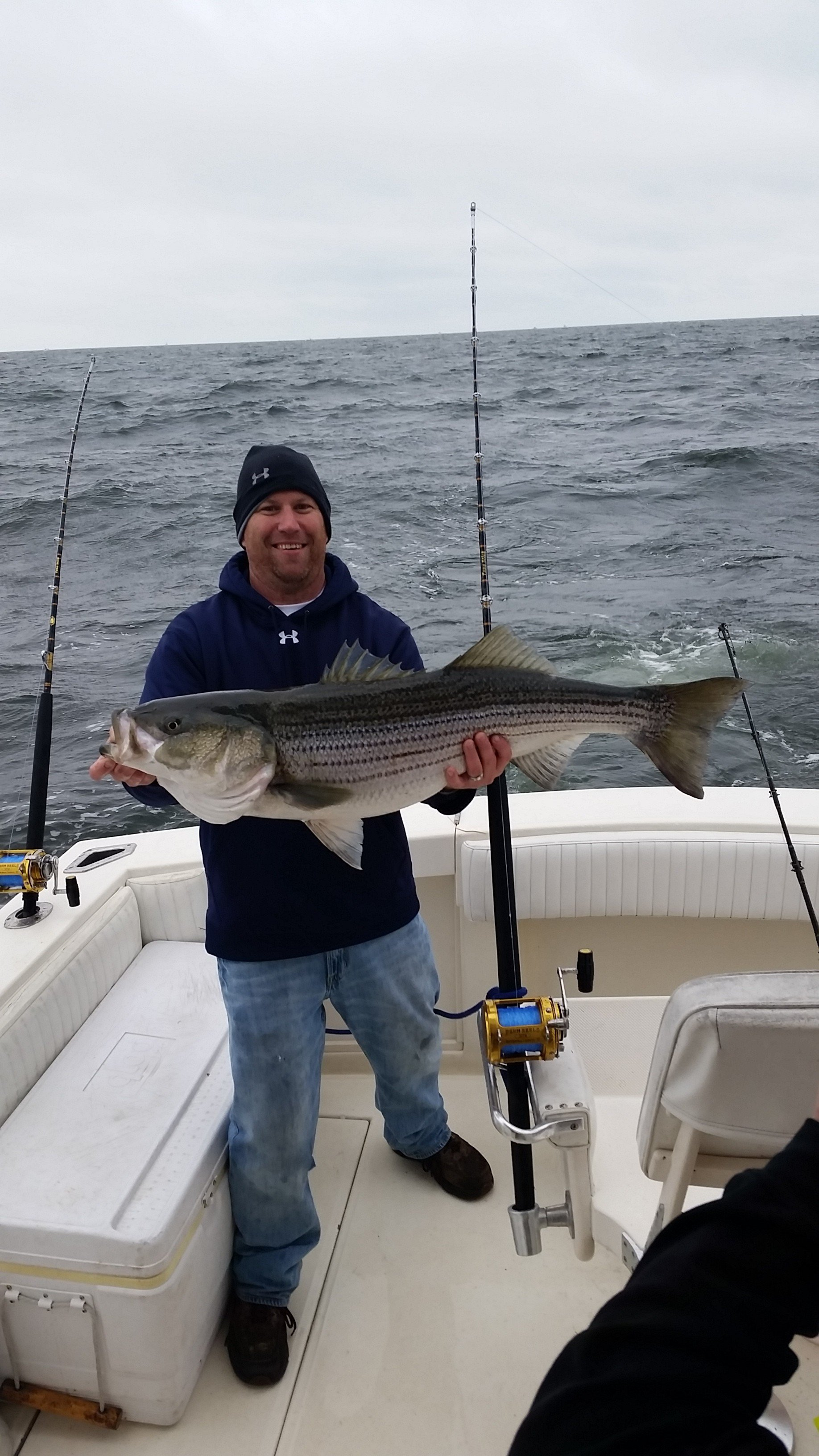 Chesapeake stripers and the annual ocean city reef for Fishing in md