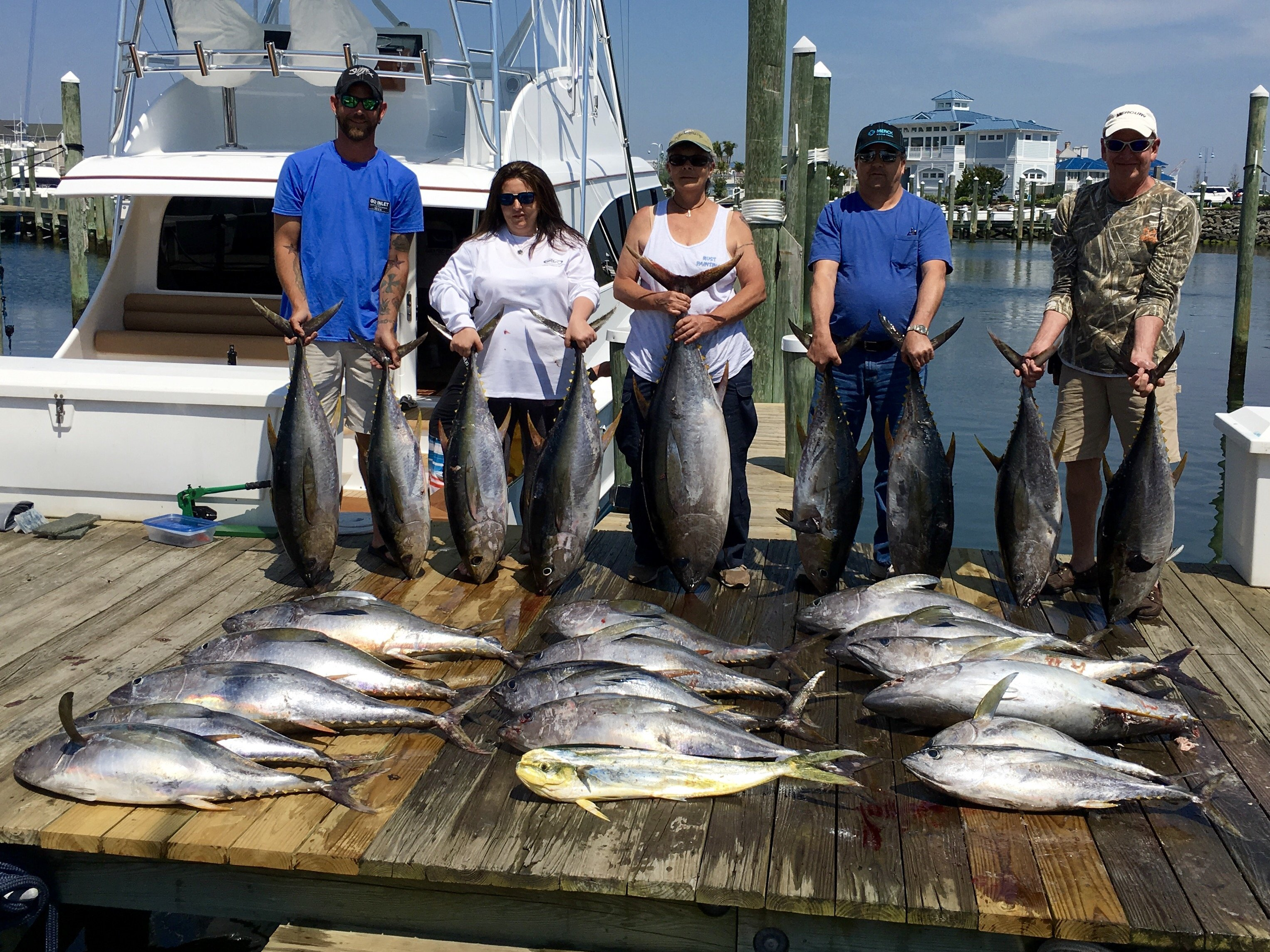 Ocean city 39 s first bigeye tuna ocean city md fishing for Fishing in ocean city md