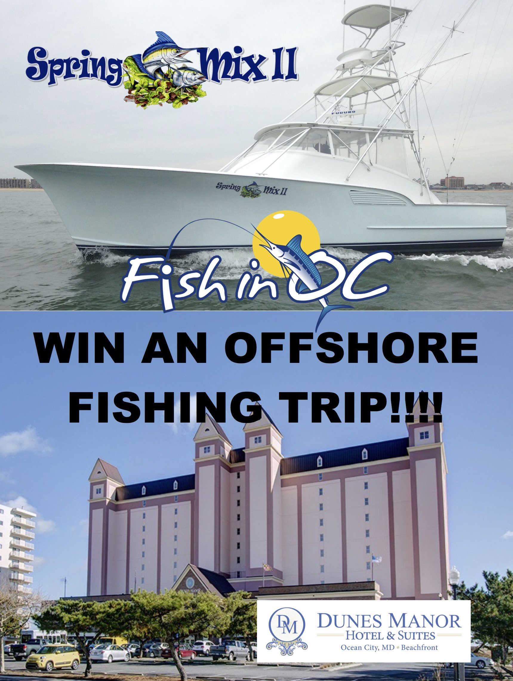 WIN A FREE OFFSHORE FISHING TRIP