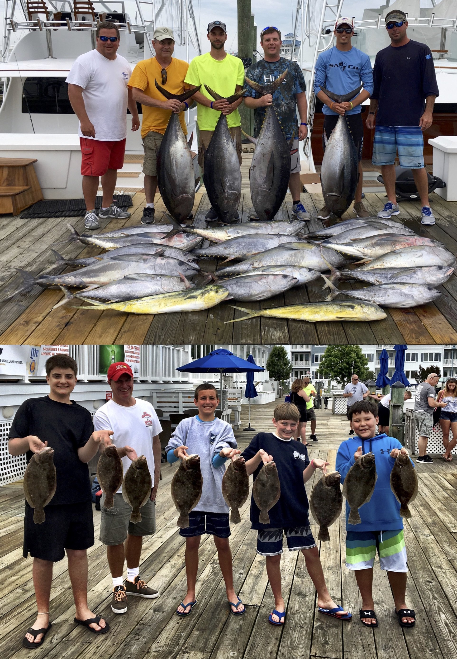 Tuna or Flounder….Take Your Pick