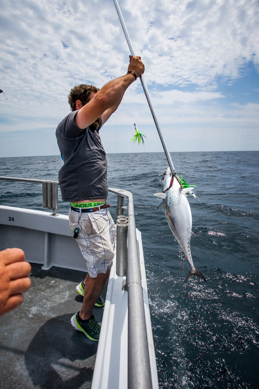 Even on the ride home ocean city md fishing for Morning star fishing