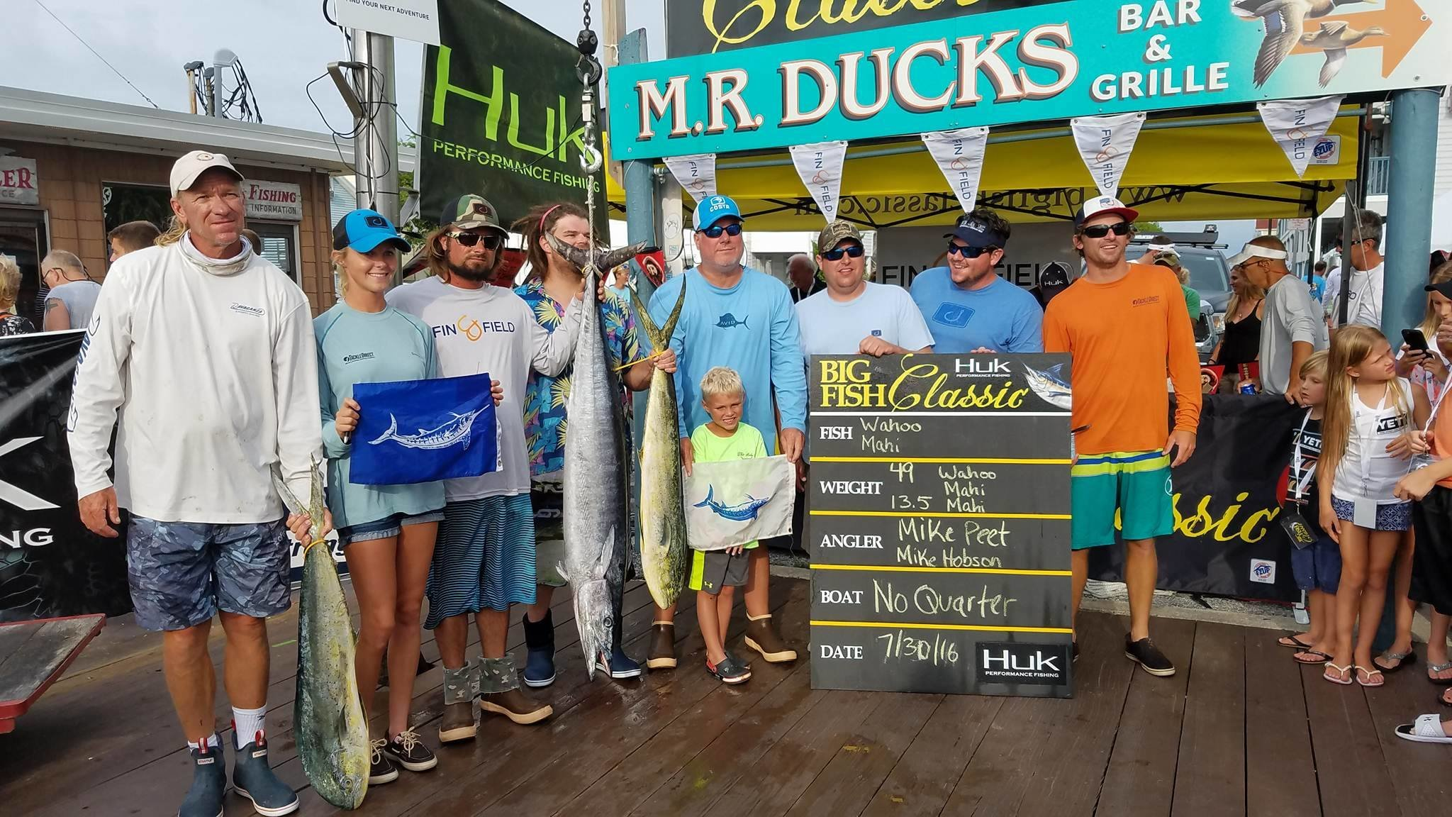 Huk Big Fish Classic Day 2