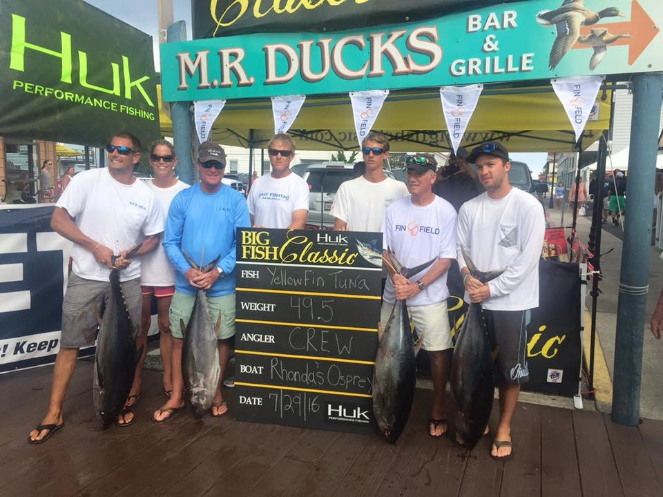 huk big fish classic ocean city md fishing
