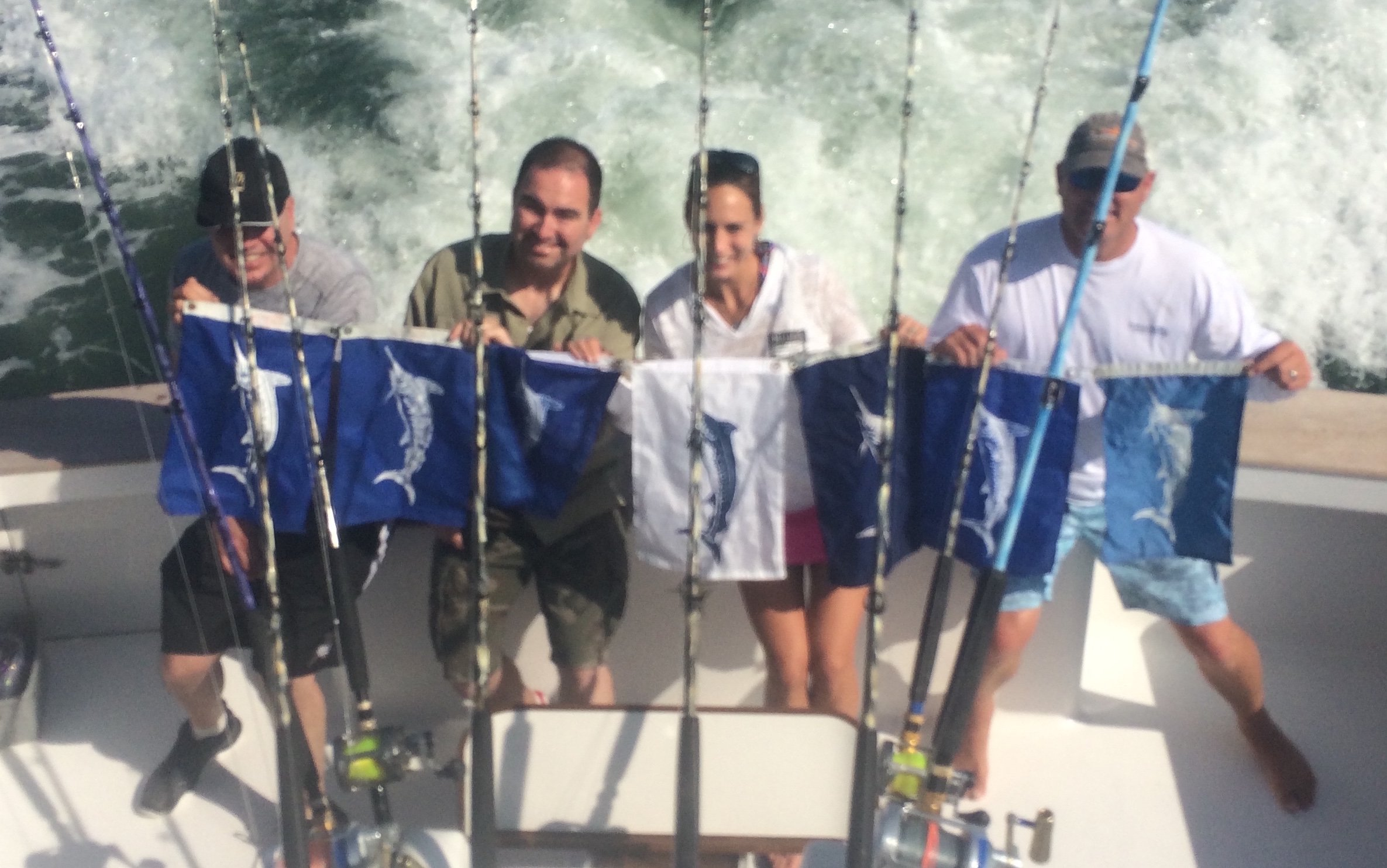 Flounder Inshore, Marlin and Tuna Offshore