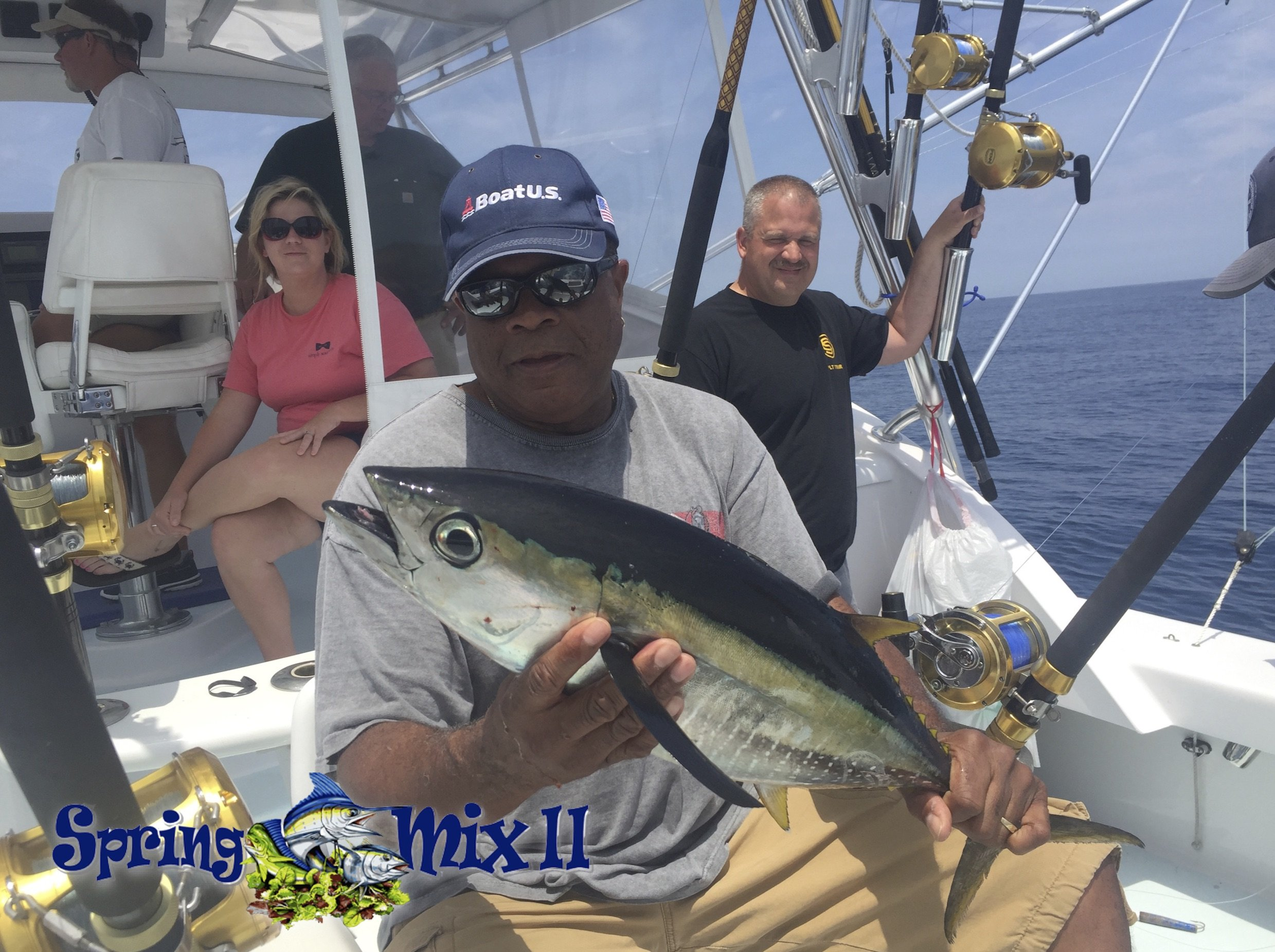 Fish in oc trade show schedule offshore fishing trip for Free fishing tackle giveaway