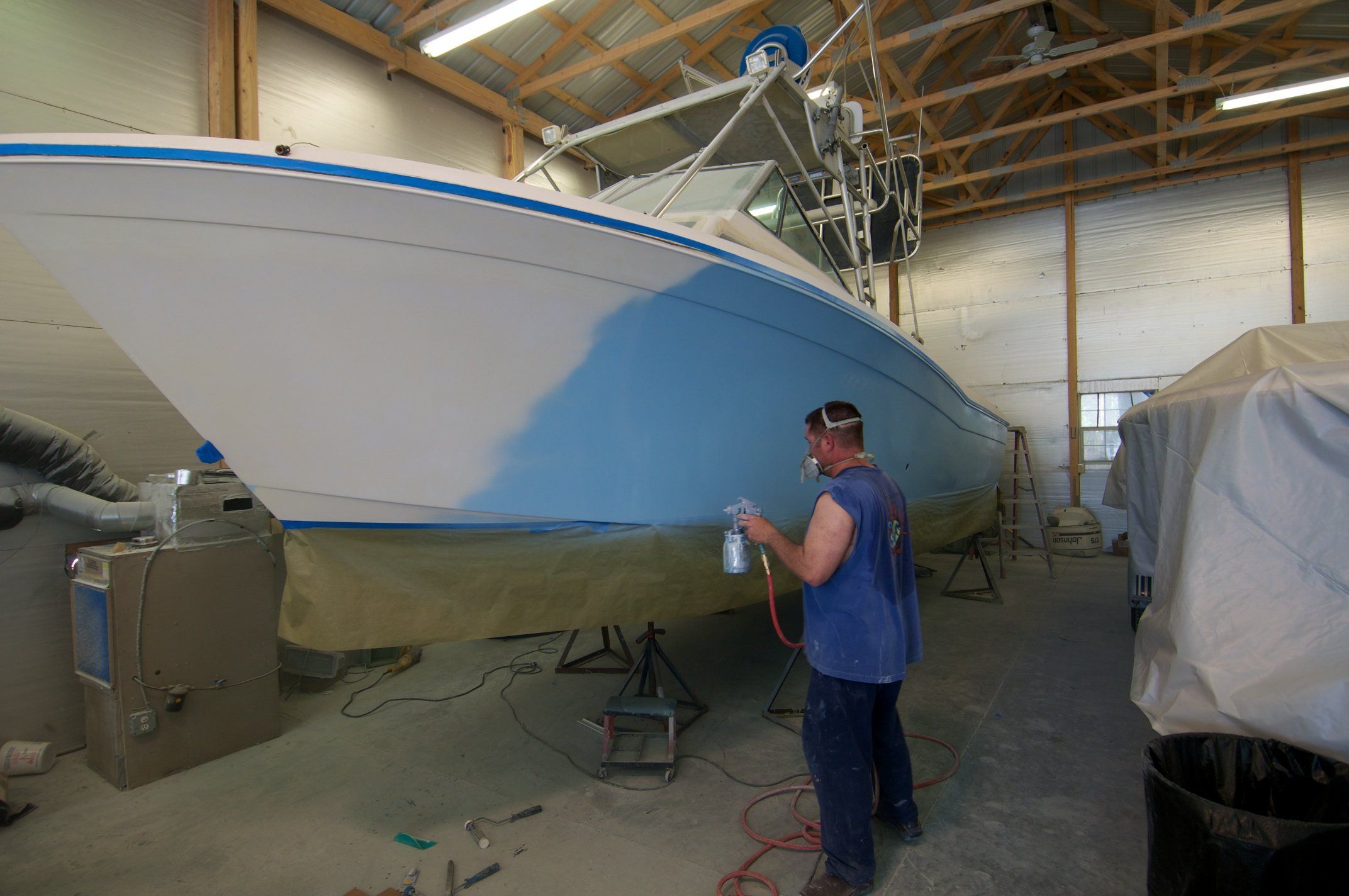 Best Paint For Grp Boat
