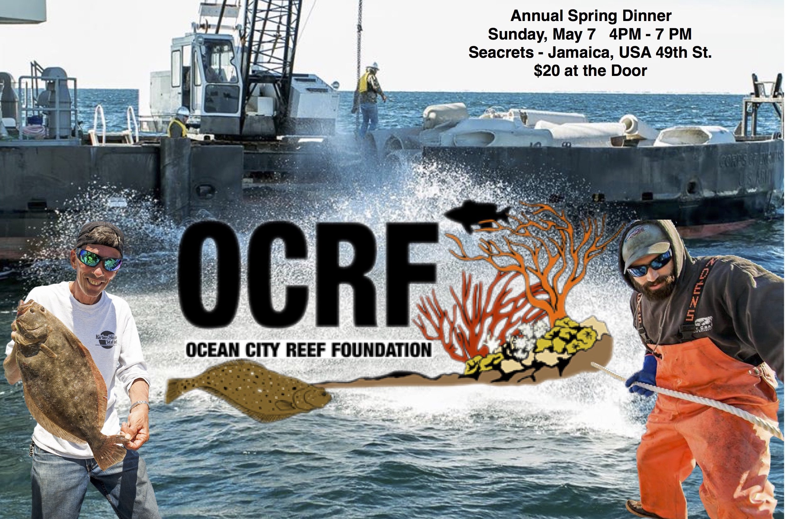 Ocean City Reef Foundation Annual Spring Dinner