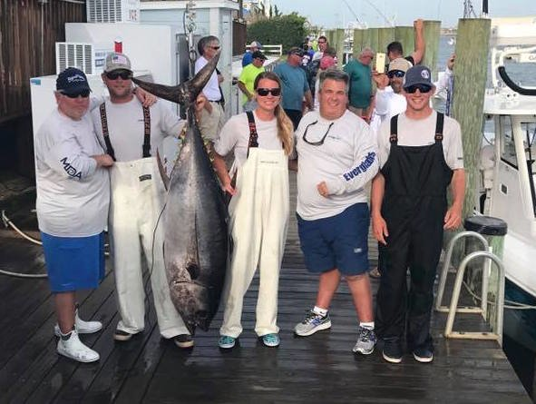 Big First Place Tuna for Fishing For Muscular Dystrophy Crew #ffmd