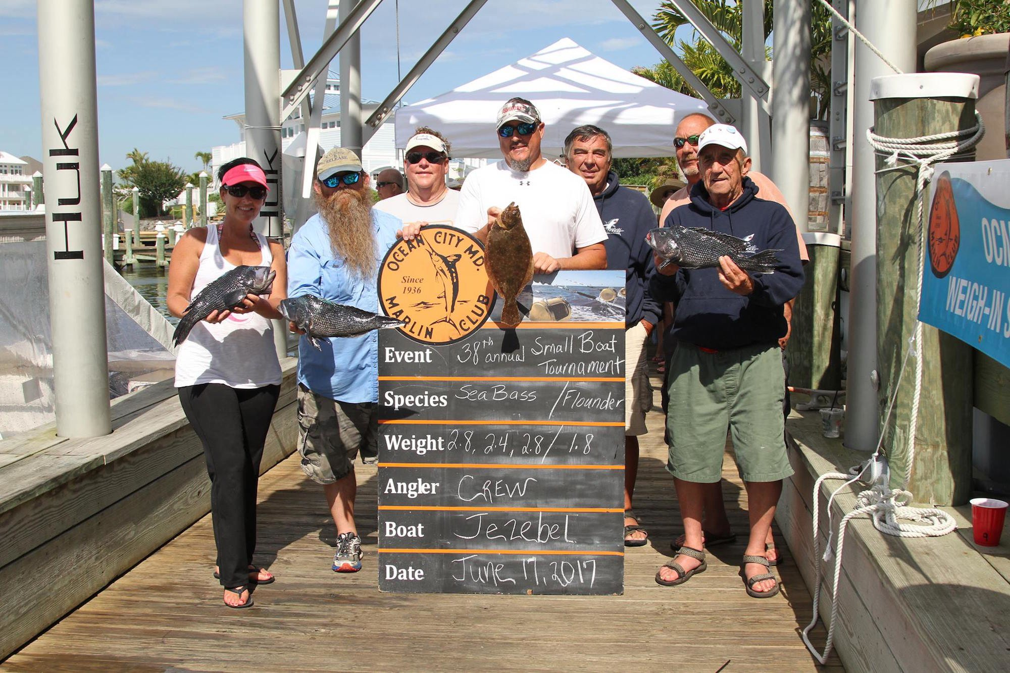 OCMC Small Boat Tournament Results