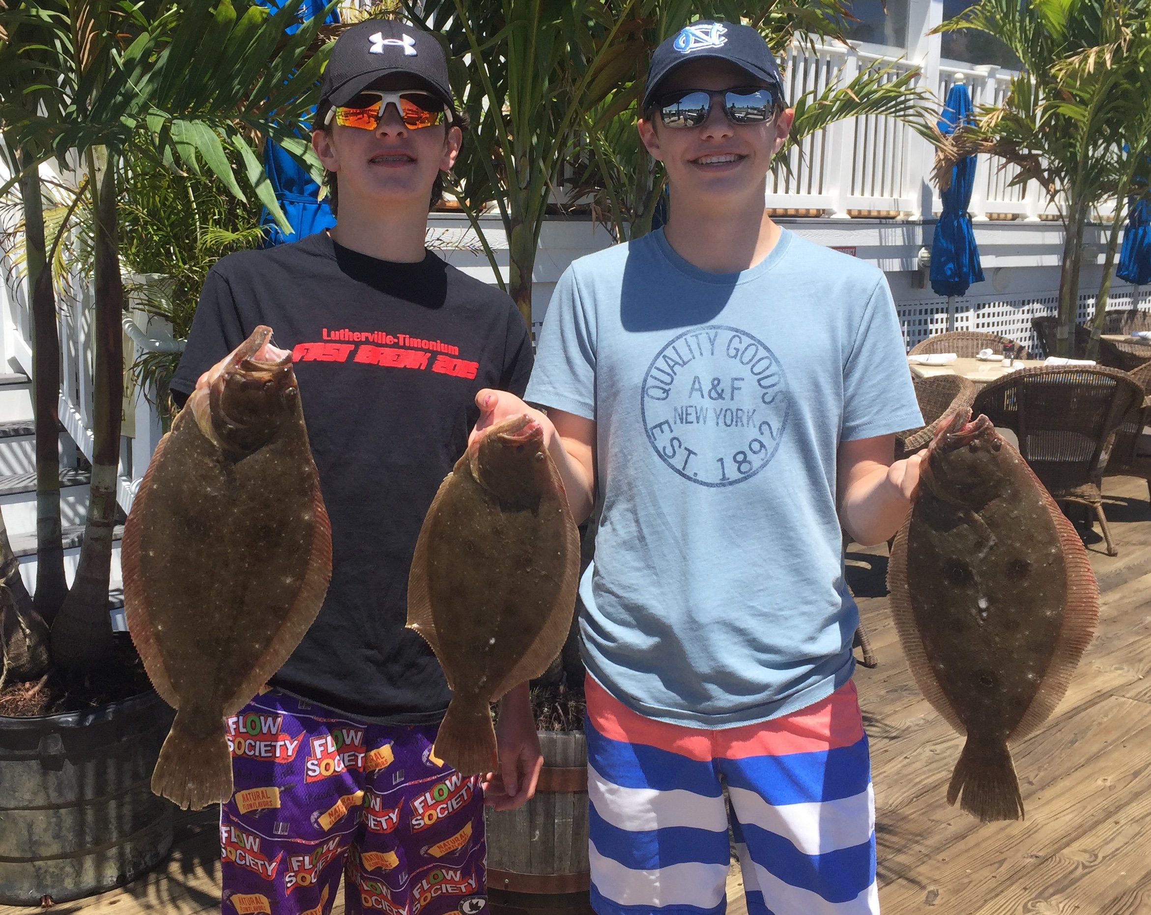 Fish in OC Flounder Party