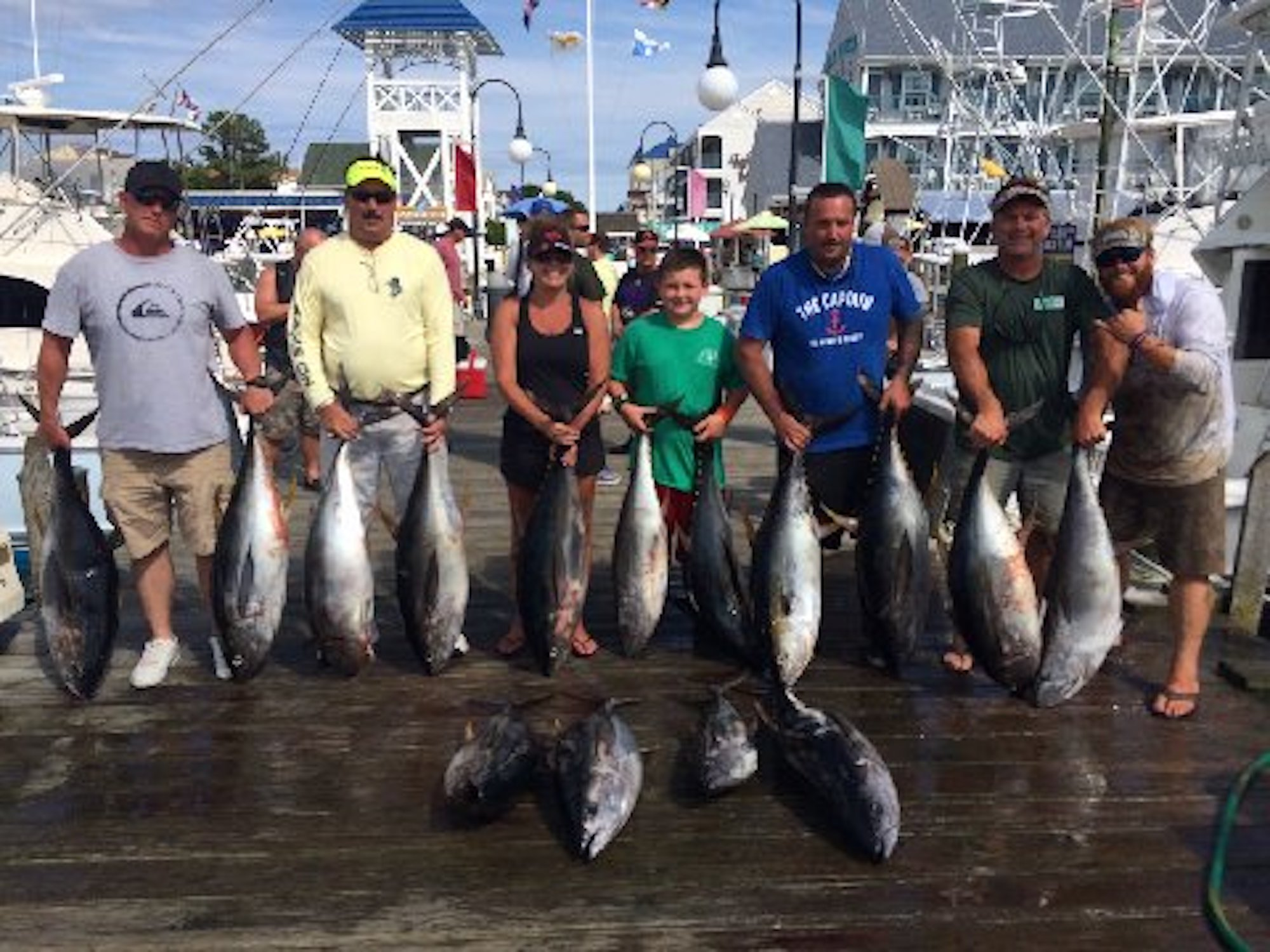 Chunkin 39 some nice tunas ocean city md fishing for Fishing in ocean city md