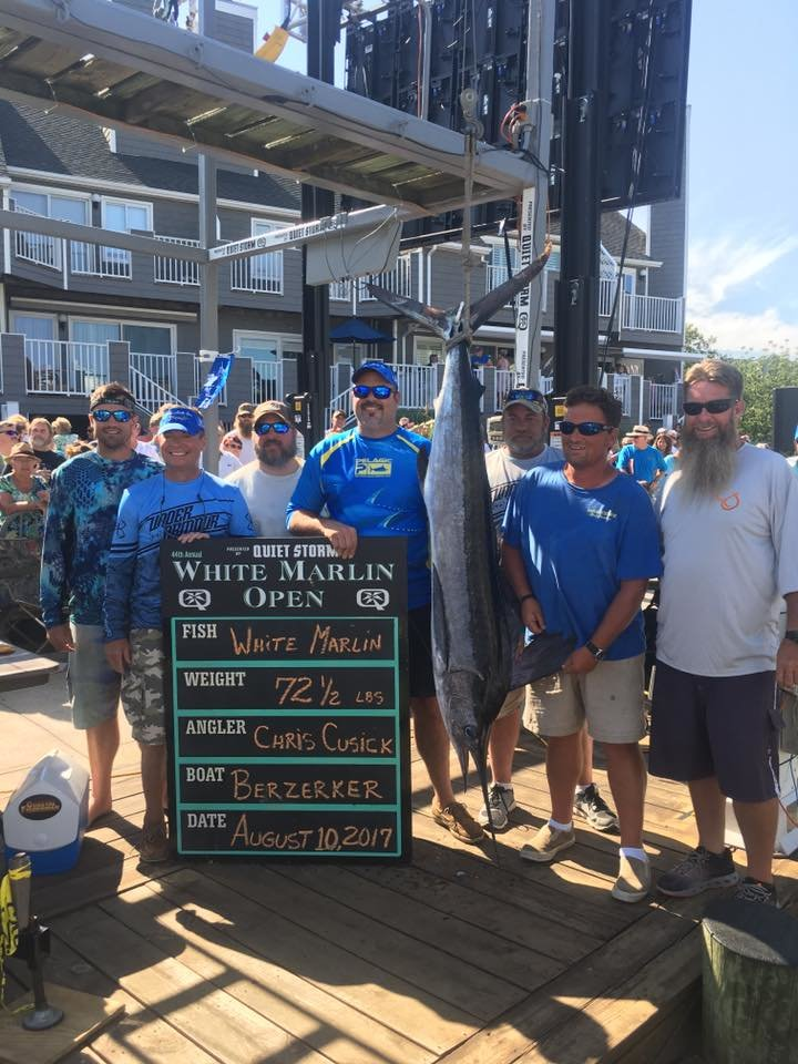New White Marlin on the Board for the White Marlin Open