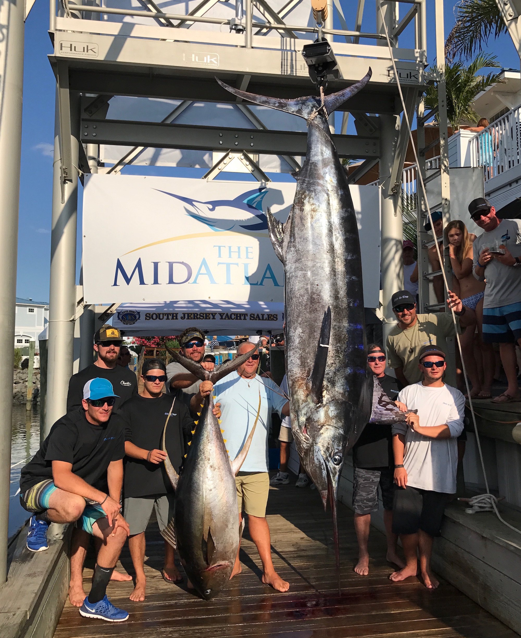 Two 600 Pound Blue Marlin and 184 Pound Yellowfin Highlight The MidAtlantic Day 4