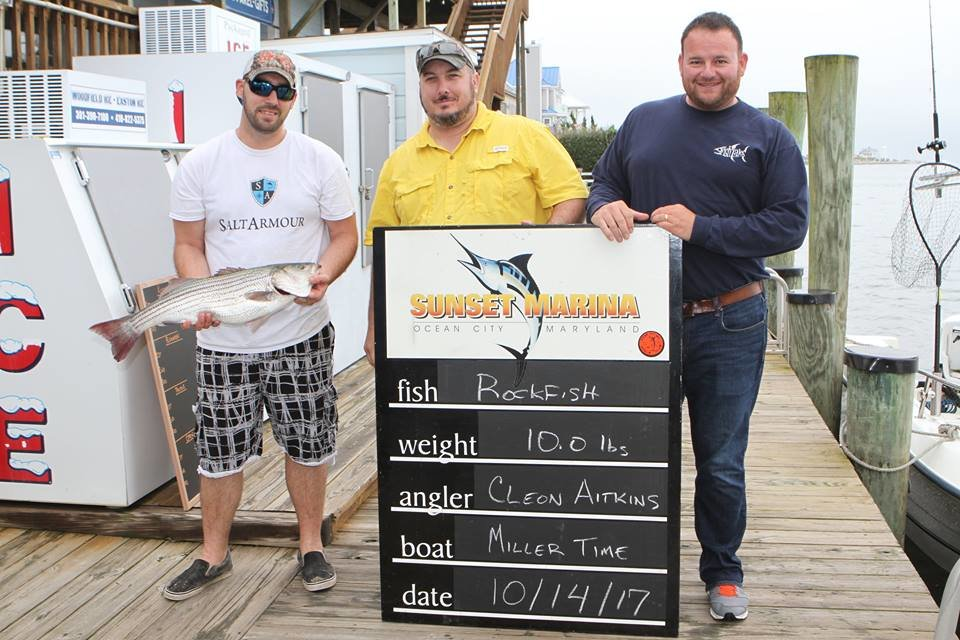 Ocean City Inshore Classic Day 1 Scales and A 10 Pound Flounder