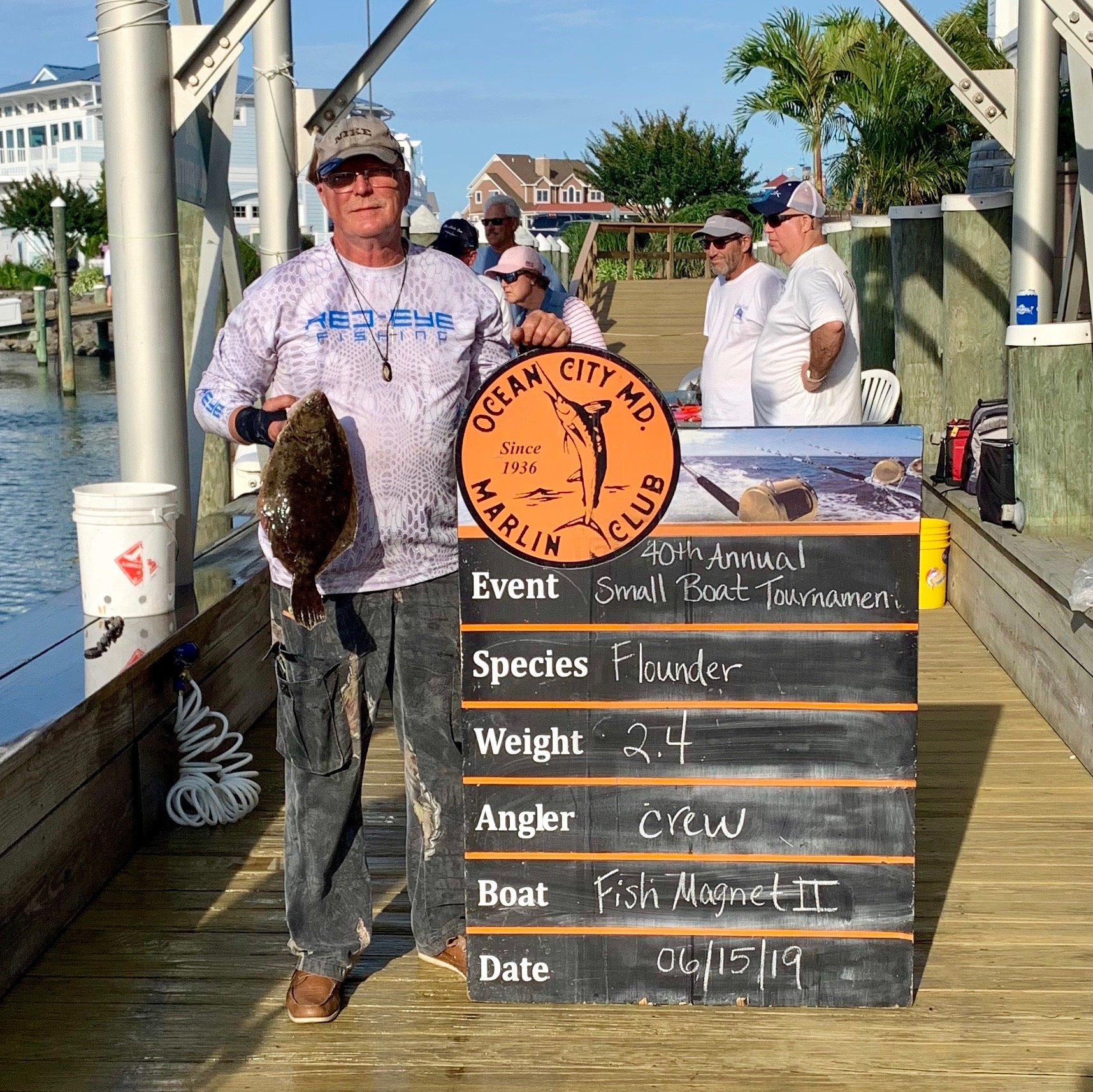 OCMC 40th Annual Small Boat Tournament Results   Ocean City MD Fishing