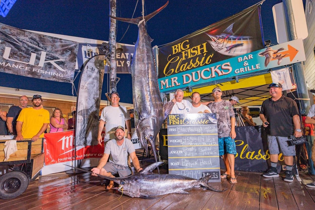 Tournament Record 455 Pound Blue Marlin