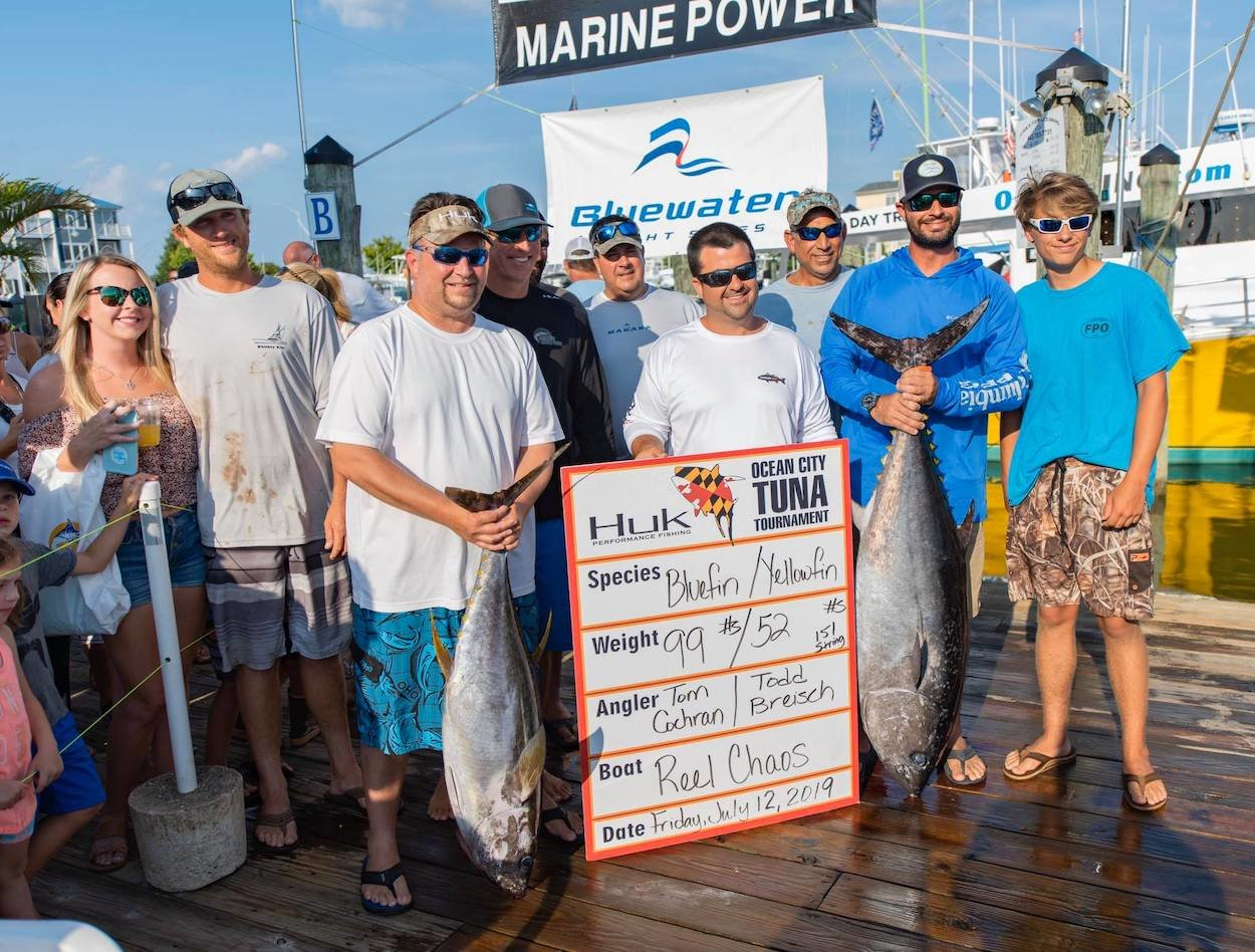 Day 1 at The Ocean City Tuna Tournament