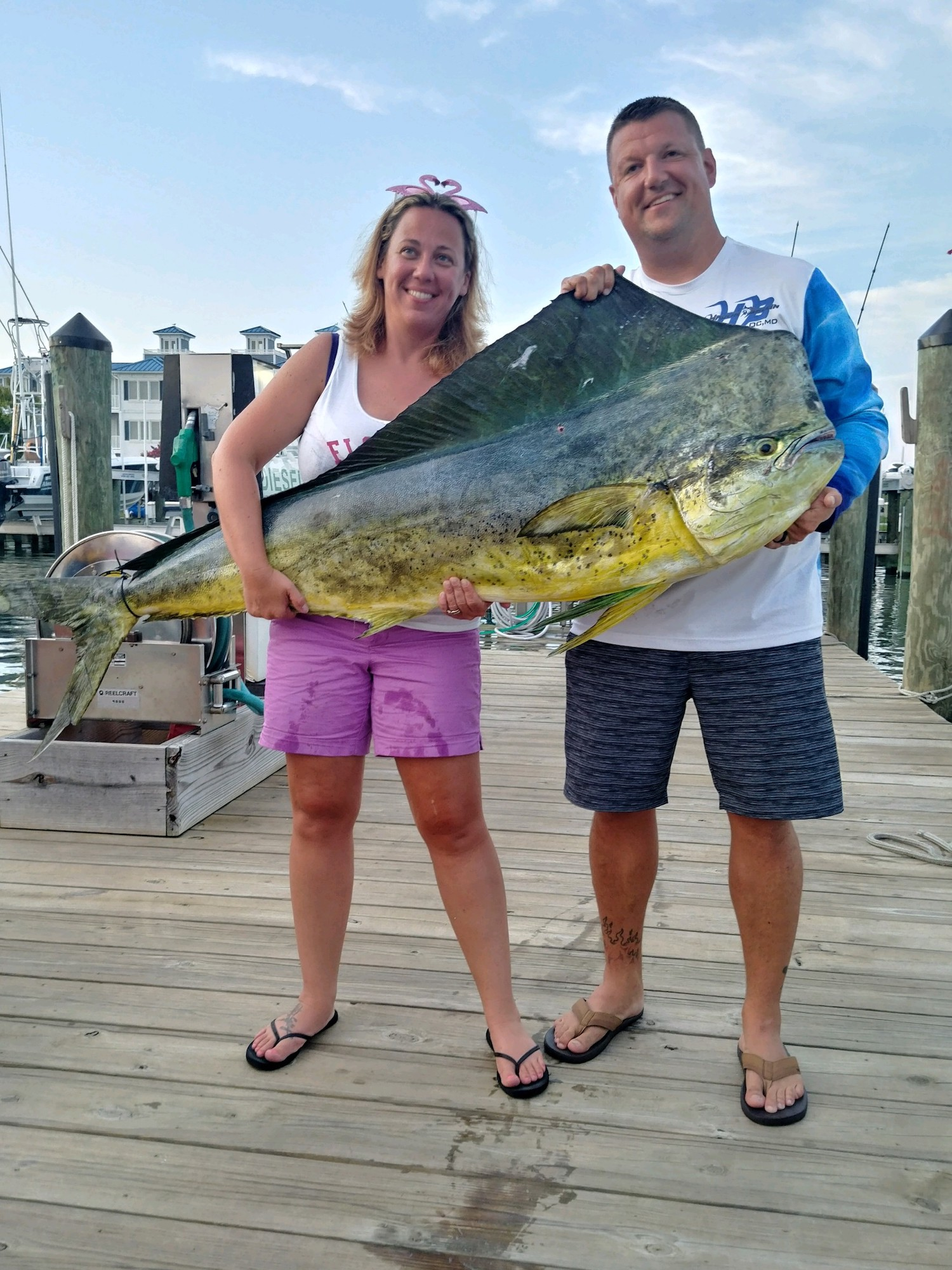Day 2 at The 2019 Poor Girl's Open Sees NEW MD State Record Mahi