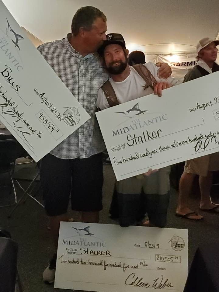 Blue Marlin Highlight Friday and Stalker Wins Over $800,000 in 2019 MidAtlantic