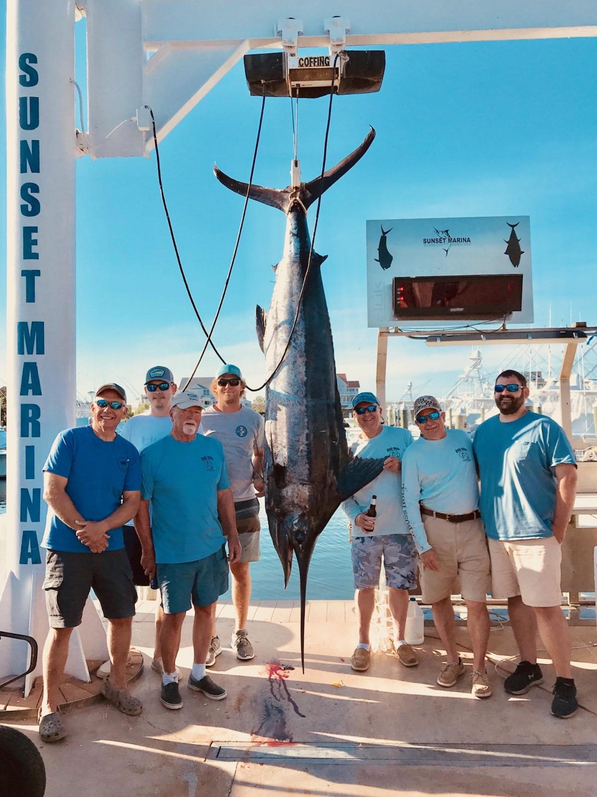 400+ Pound Blue Marlin And More Flounder From The Wrecks