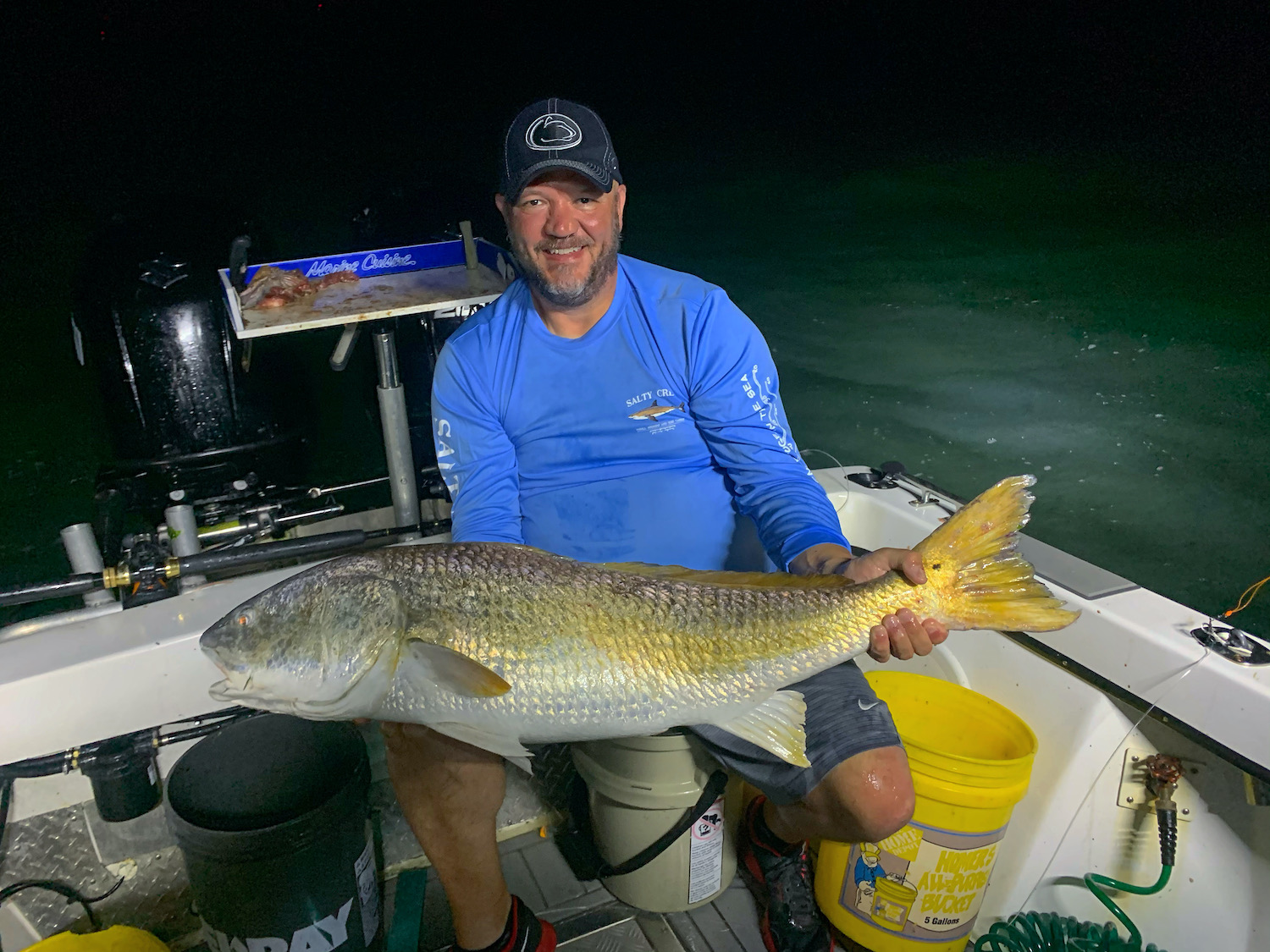 Good Tuna Fishing and A Surprise Red Drum