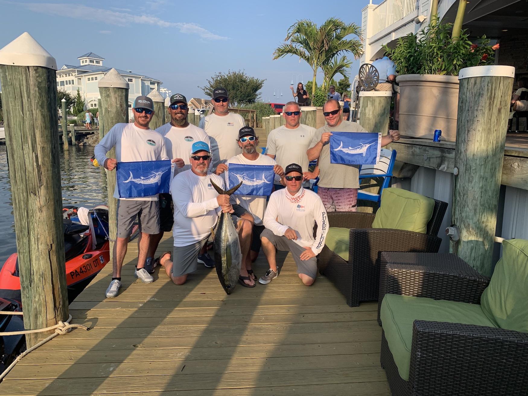 Day One at the Ocean City Marlin Club Canyon Kick Off