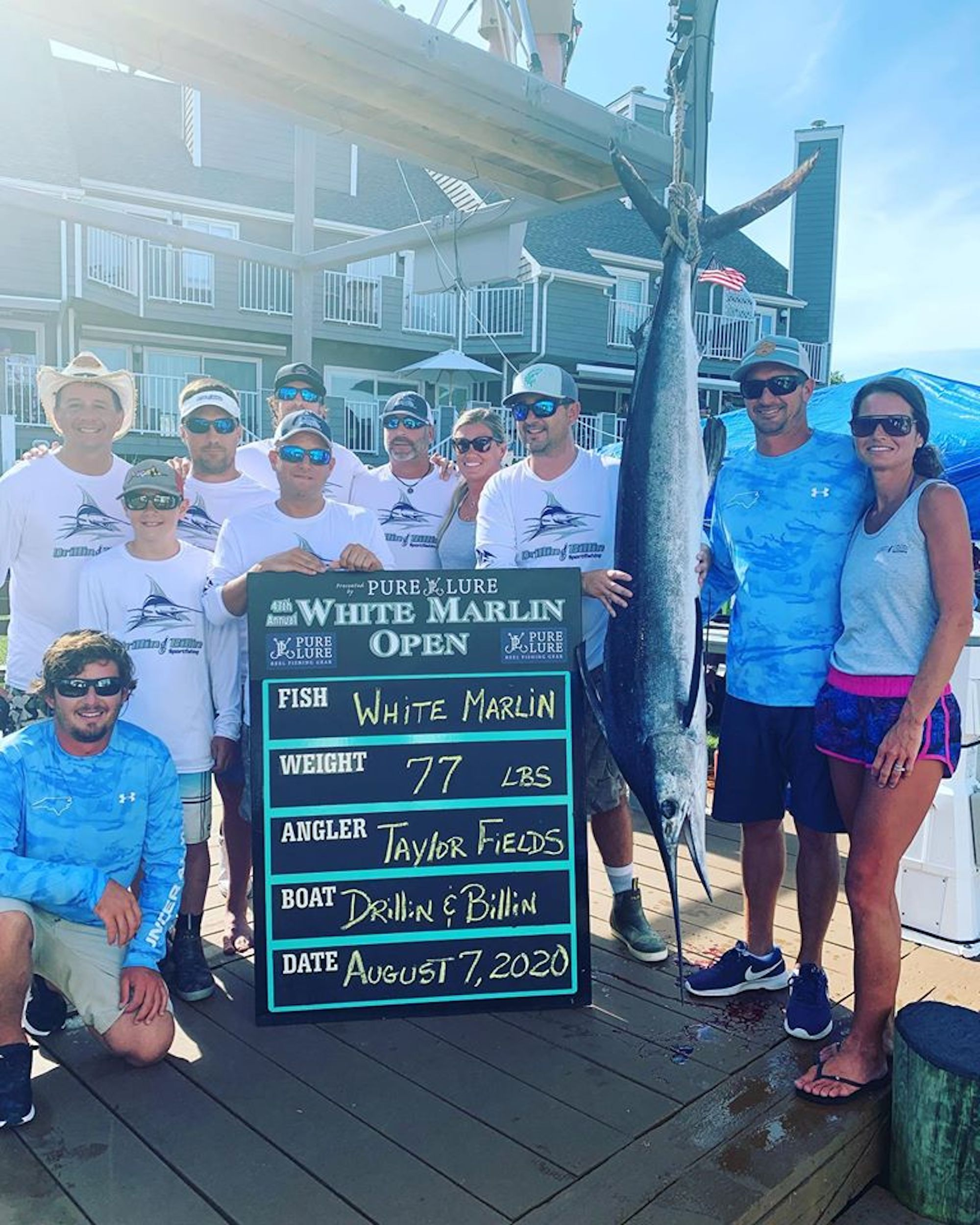 73.5 Pound Mahi and A White Marlin Currently Worth $2.9 Million
