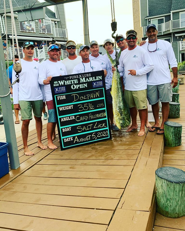 Mahi and Wahoo Hit the Board For Day 2 of the 2020 White Marlin Open