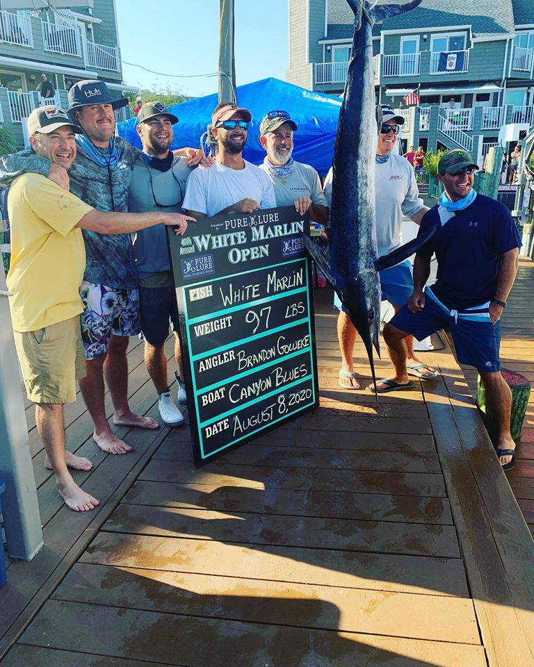 97 Pound White Marlin Highlights Day 6 White Marlin Open Action
