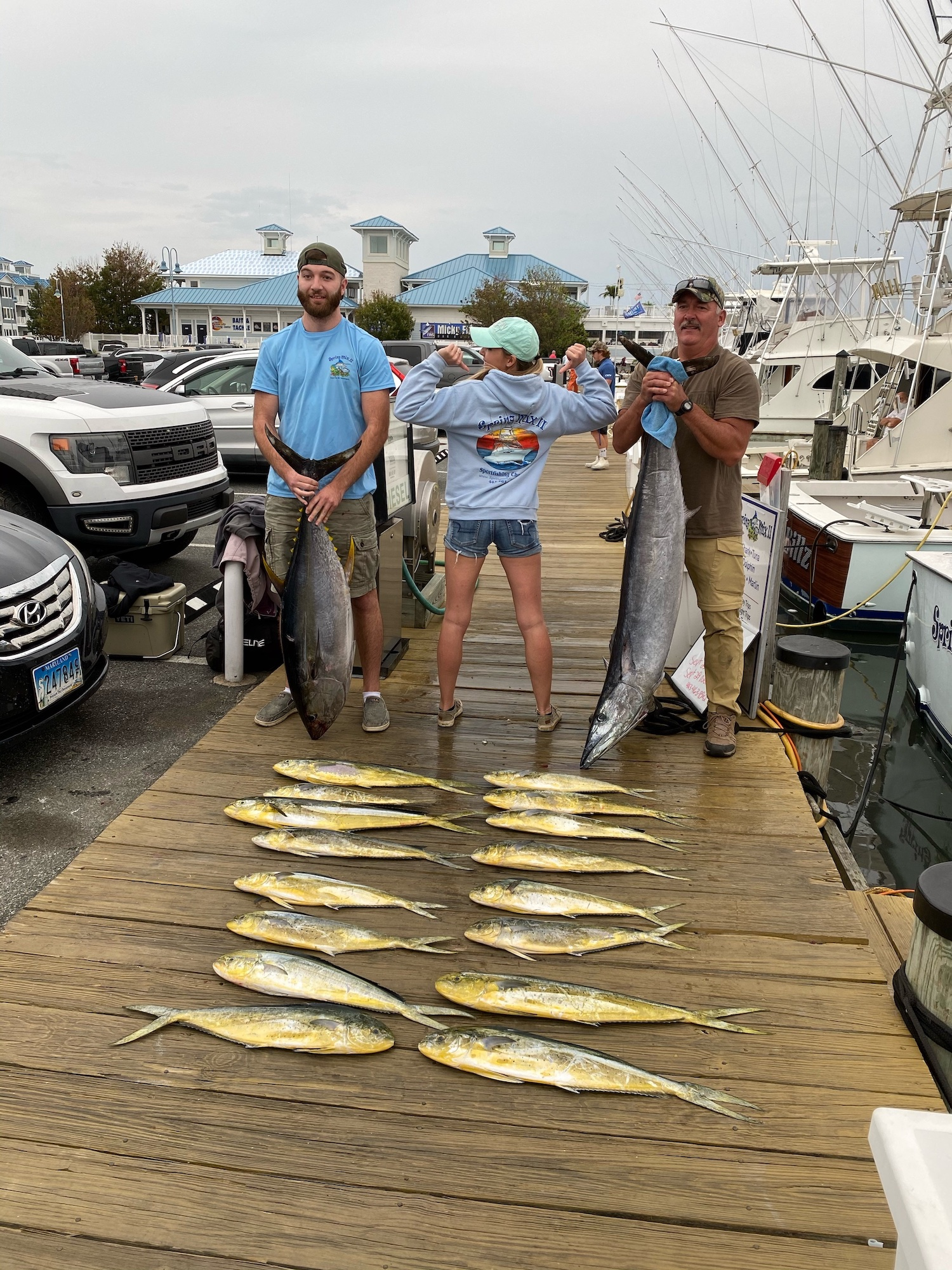 Pretty Good Fishing Offshore and In
